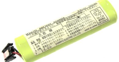 [KC0402A、5441-1445]金陵電機株式会社 Kinryo ハンディR、ハンディRⅡ 他 バッテリーセル交換