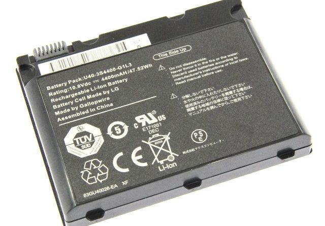 [U40-3S4400-G1L3]マウスコンピューター EGPN160DR16P 他バッテリーセル交換