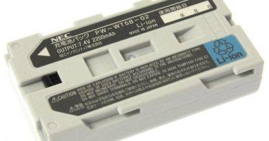 [PW-WT58-02]NECインフロンティア PW-WT58-02 携帯プリンター 他バッテリーセル交換