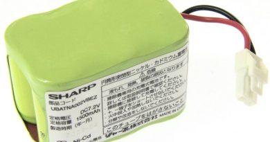 [UBATNA002VBEZ]シャープ 充電式スティック コードレスワイパー EC-FW1 バッテリーセル交換