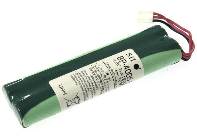 [BP-4005-E]SII スタンドアロン プリンタユニットDPU-414バッテリーセル交換