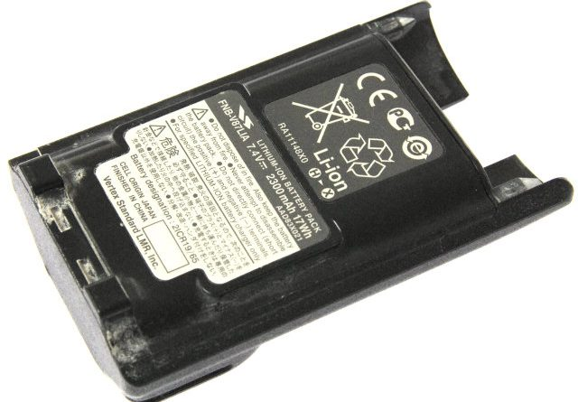 [FNB-V87LIA]八重洲無線 バッテリーセル交換