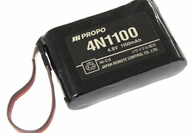 [4N1100]JR PROPO ラジコン受信機用Ni-Cdバッテリーセル交換